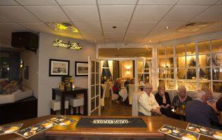 De bar van het hotel