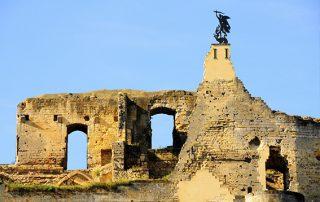 De ruine van kasteel Valkenburg