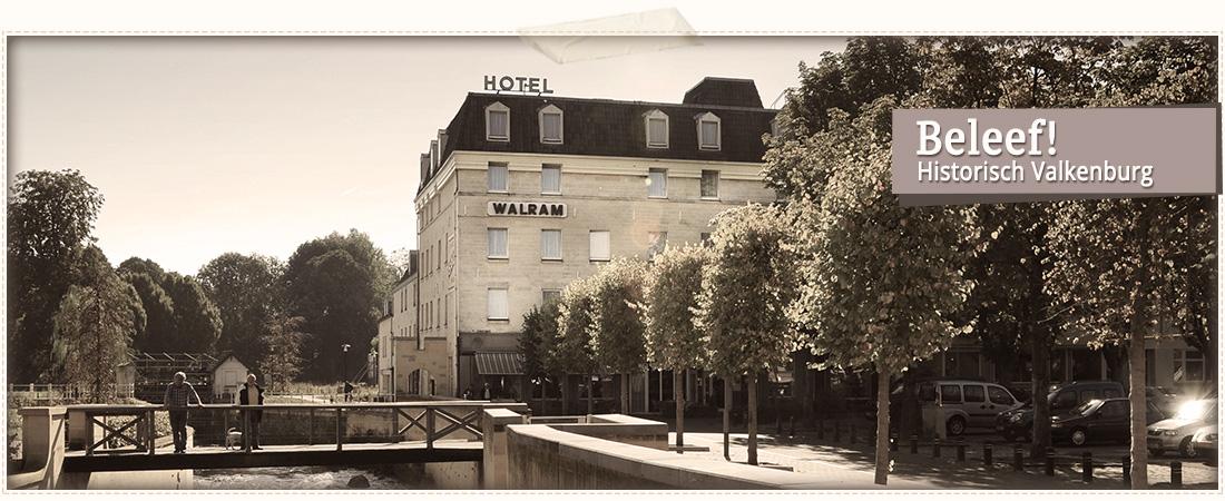 Foto van het hotel aan het water